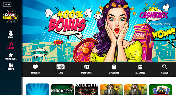 Fantastik Casino: Bonus 9€ sur Groove BetSoft (Juin 2020)